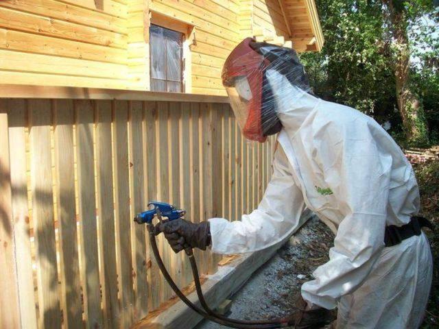 обработка деревянных домов от короеда