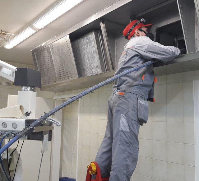 проведение дезинфекции систем вентиляции кондиционирования