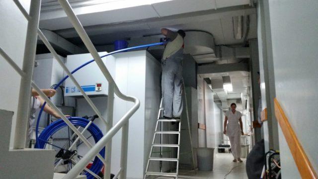 очистка и дезинфекция системы вентиляции в москве