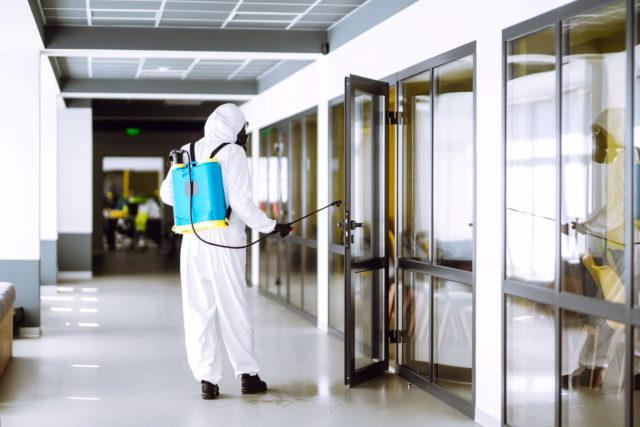 дезинфекция очага туберкулеза в помещении