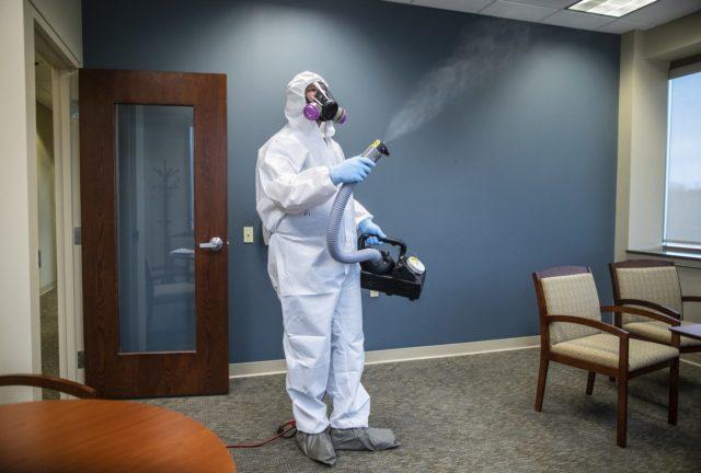 Дезинфекция от запахов и бактерий в квартире в Москве