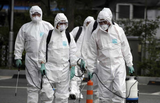 дезинфекция от вирусов и бактерий